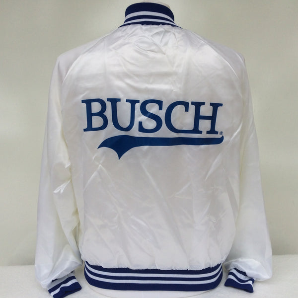 Vintage Busch Beer Coaches Jacket M