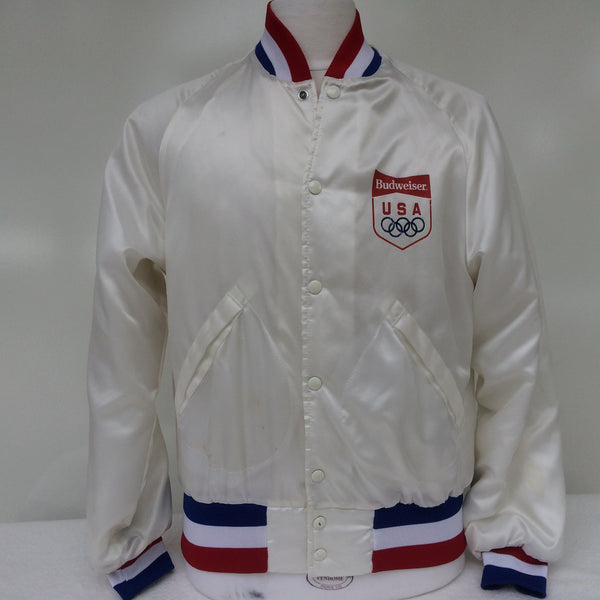 Vintage Budweiser Beer USA Olympics Coaches Jacket