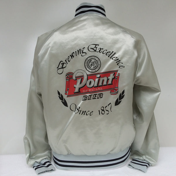 Vintage Stevens Point Beer Jacket