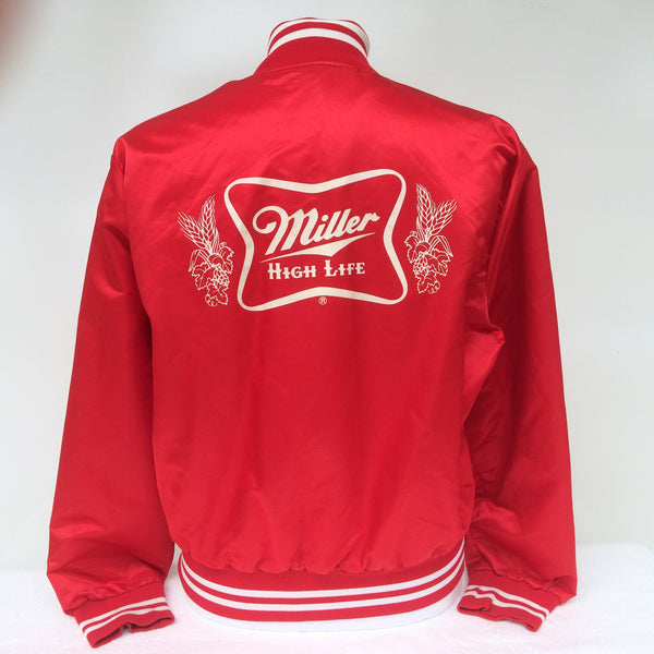 Vintage Miller High Life Beer Jacket