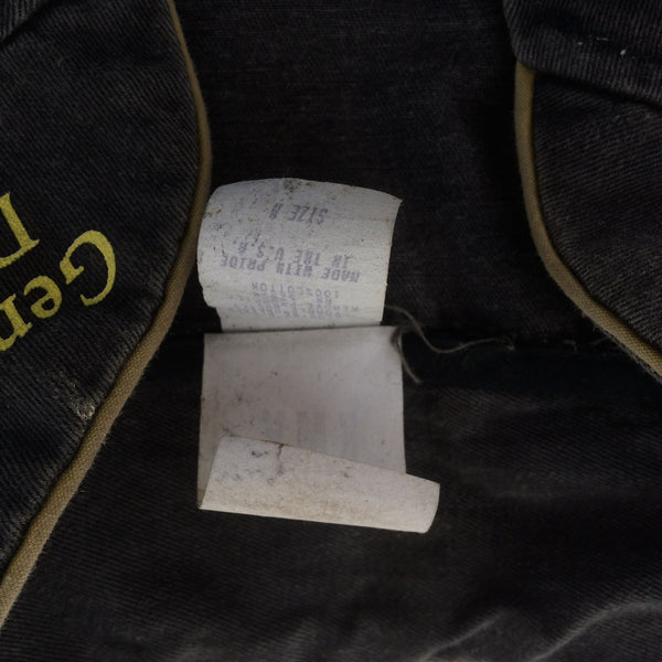 Vintage Miller Black Denim Women's Racing Suit