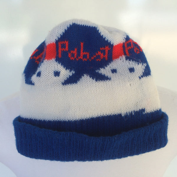 Vintage Pabst Winter Hat
