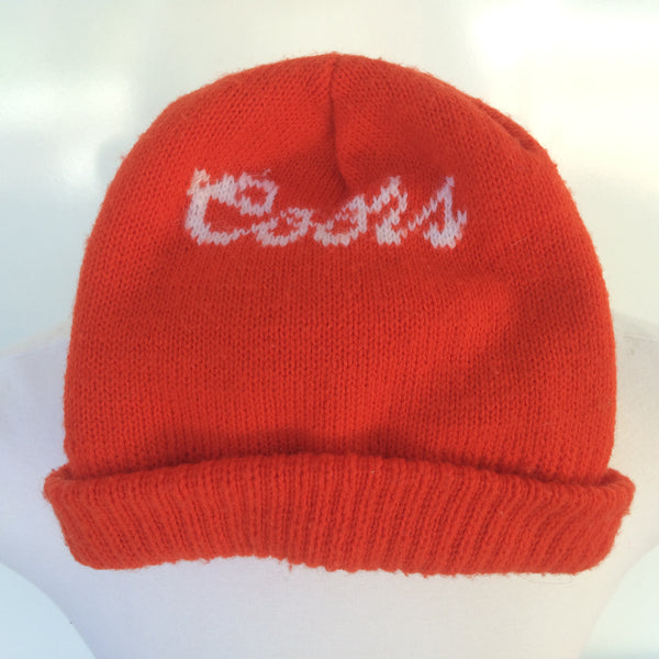 Vintage Coors Winter Hat