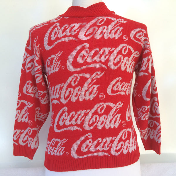 Vintage CocaCola Soda Pop Sweater
