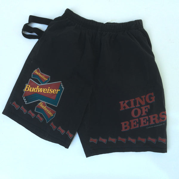 Vintage Budweiser Shorts with Can Holder