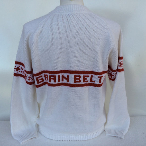Vintage Grain Belt Beer Sweater