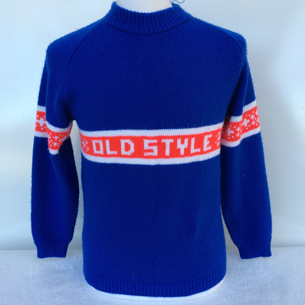 Vintage Old Style Beer Sweater Medium