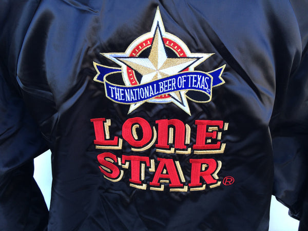Vintage Lone Star Beer Coaches Jacket