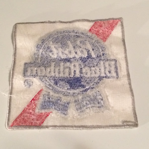 Vintage Pabst Blue Ribbon Patch Large