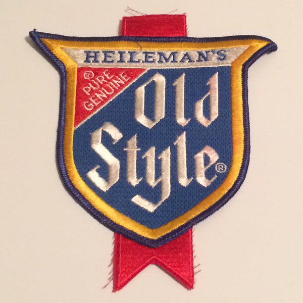Vintage Old Style Beer Patch Large
