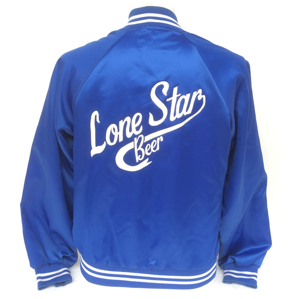 Vintage Lone Star Beer Satin Coaches Jacket