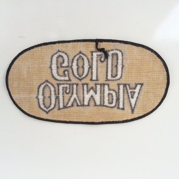 Vintage Olympia Beer Patch Large