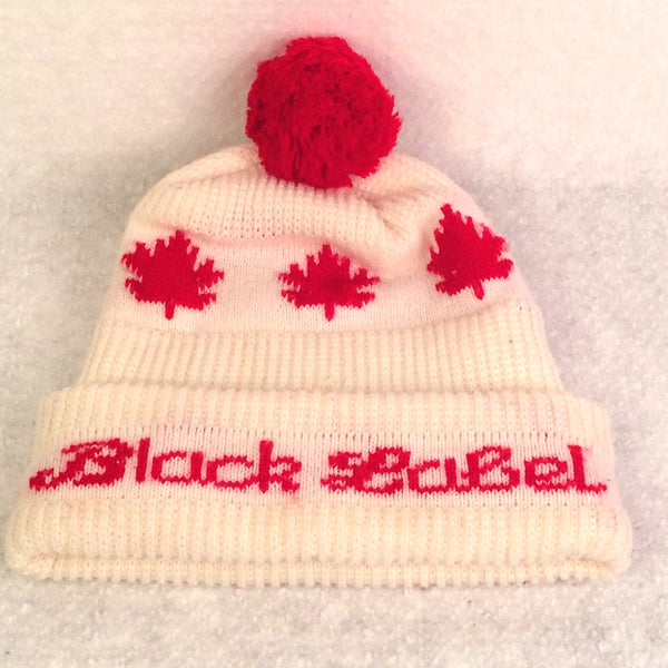 Vintage Carling Black Label Beer Winter Hat