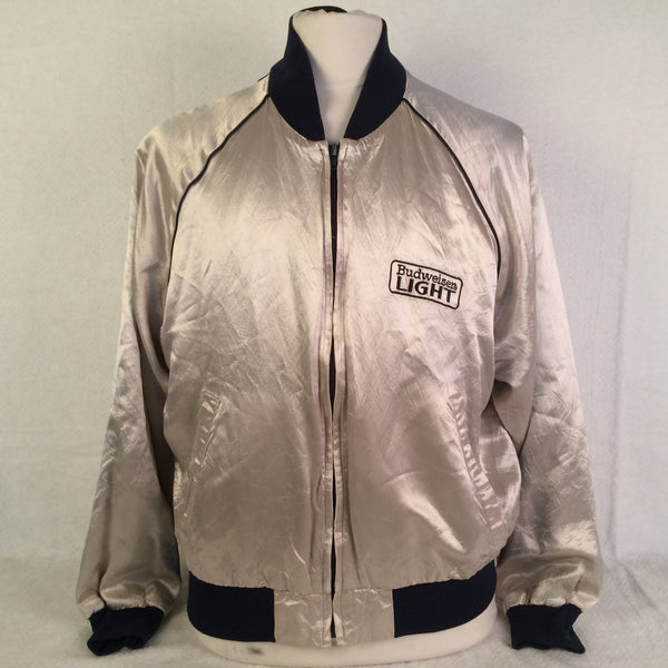Vintage Budweiser Light Beer Sports Jacket