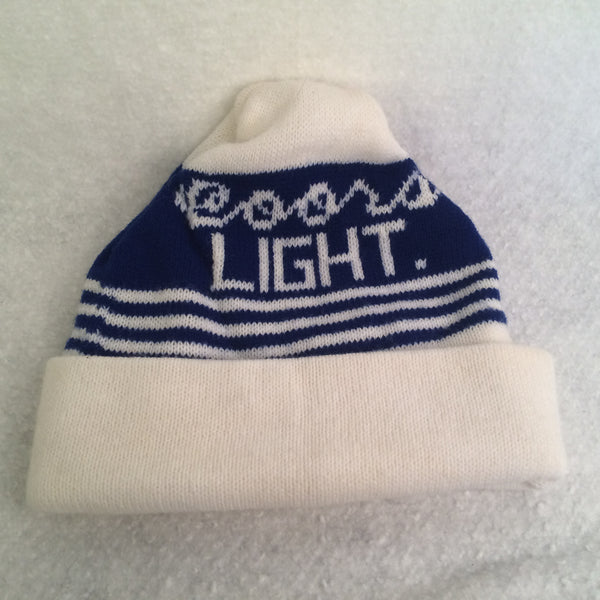 Vintage Coors Light Winter Ski Hat