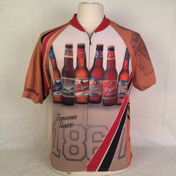 Vintage Leinenkugels Bicycle Jersey