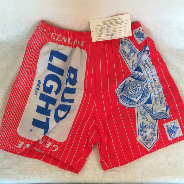 Vintage Bud Light Swimming Trunks