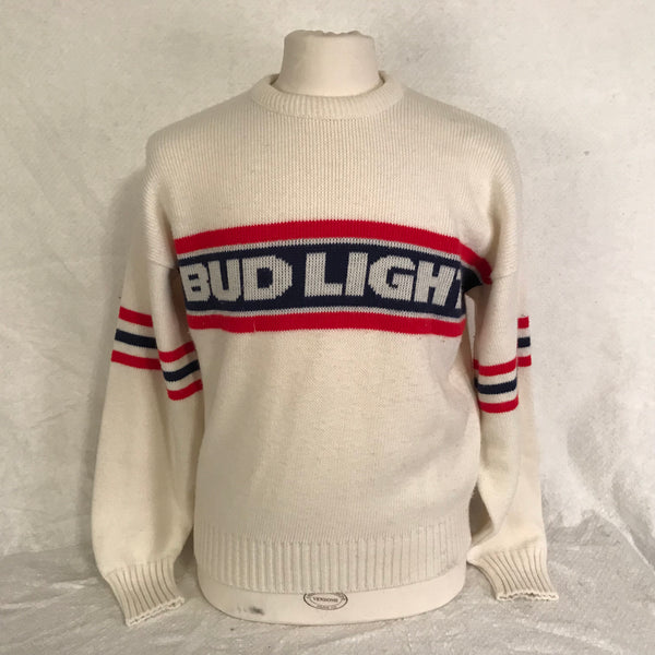 Vintage Bud Light Beer Sweater