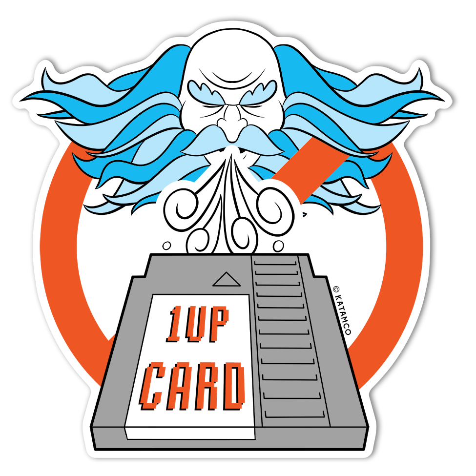 1UPcard™ Sticker
