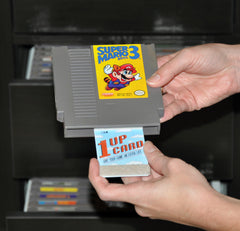 1UPcard retro video game cartridge cleaner