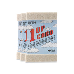 1UPcard™ Video Game Cartridge Cleaning Cards - 3 Pack