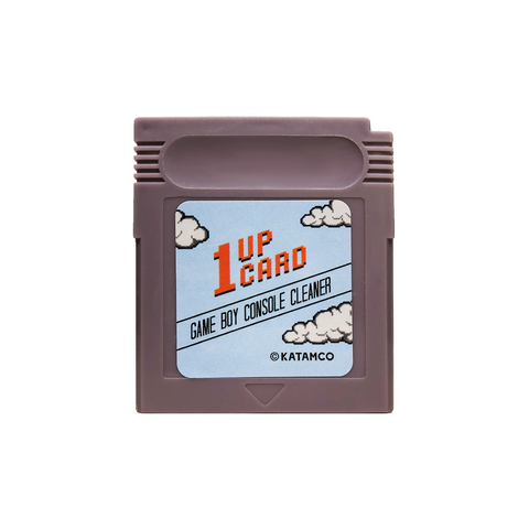 Game Boy Console Cleaner - Game Boy Cleaning Cartridge by 1UPcard™
