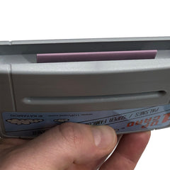 Super Famicom / PALSNES Console Cleaner - PAL / Super Famicom Nintendo Cleaning Cartridge by 1UPcard