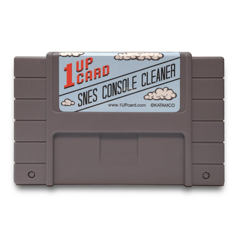 SNES Console Cleaner - Super Nintendo Cleaning Cartridge
