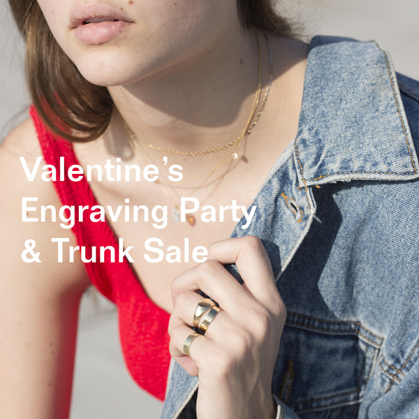 Valentine's Engraving Party & Trunk Sale