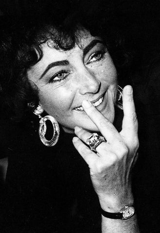 Elizabeth Taylor by Richard Young