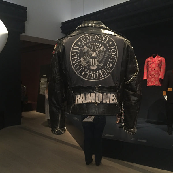 LACMA menswear Los Angeles Black Leather Jacket Ramones