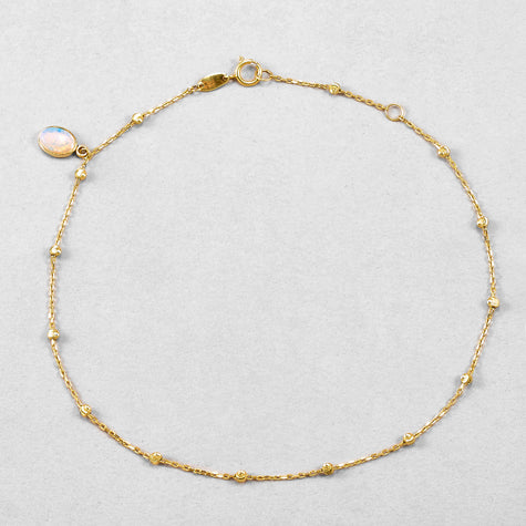 Bead Chain Anklet