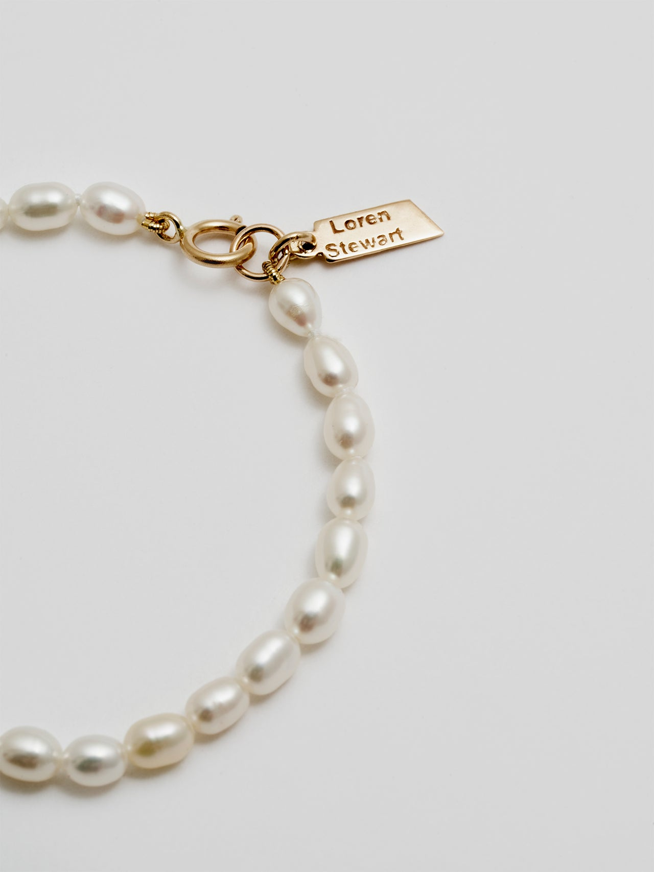 "Rice Pearl Anklet ""Baby Collection"""