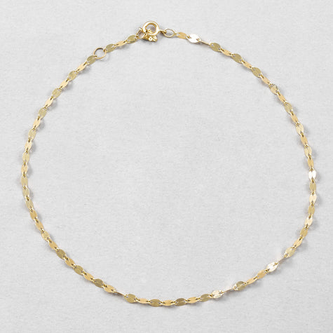 Mirror Chain Anklet
