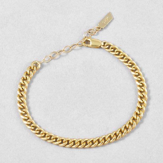Lightweight Curb Chain Bracelet