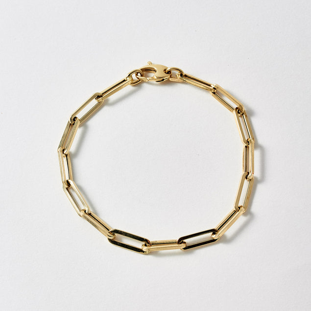 XL Boxy Long Link Bracelet