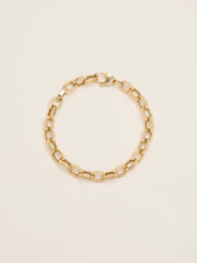 Hollow XL Oval Link Chain Bracelet