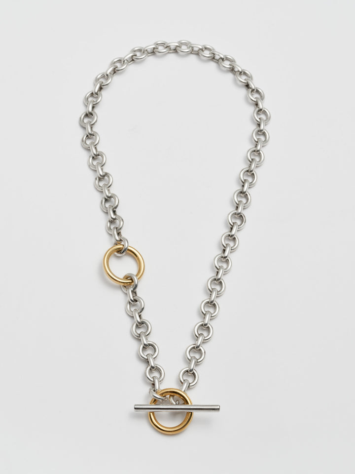 Deux Toggle Necklace