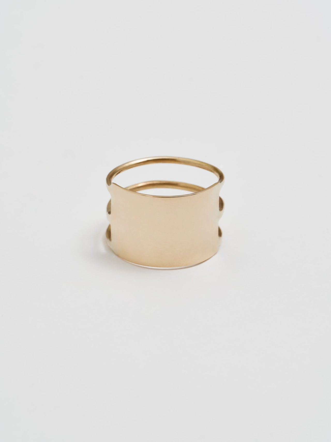 3 Band ID Cuff Ring