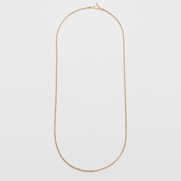 Foxtail Chain In Gold