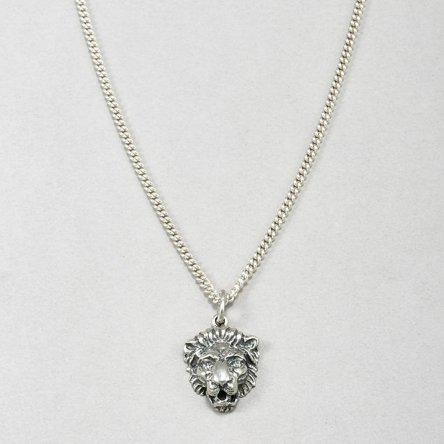 Lion Medallion Necklace