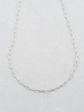 Sterling Silver Long Link Chain