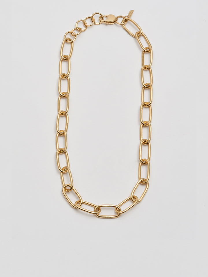 Industrial XXL Long Link Necklace