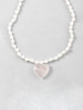 Pearl Corazon Necklace