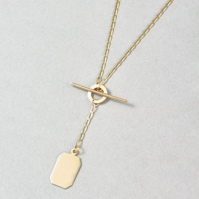 Mini ID Toggle Necklace