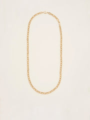 Hollow XL Oval Link Chain Necklace