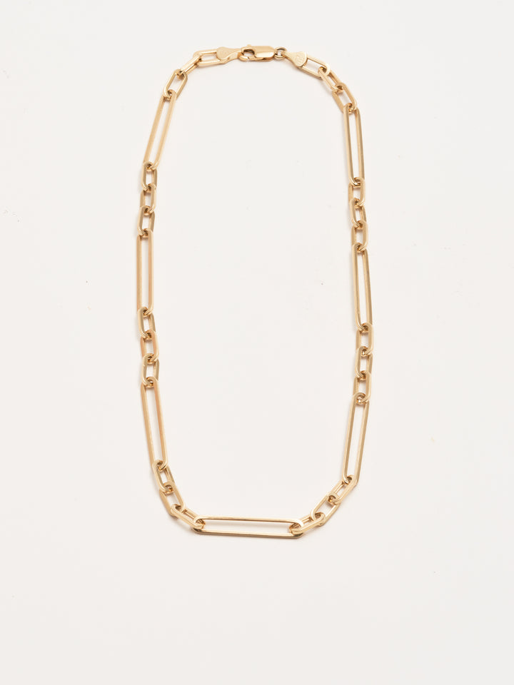 Spaced Out Long Link Chain