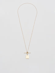 Square & Toggle Necklace