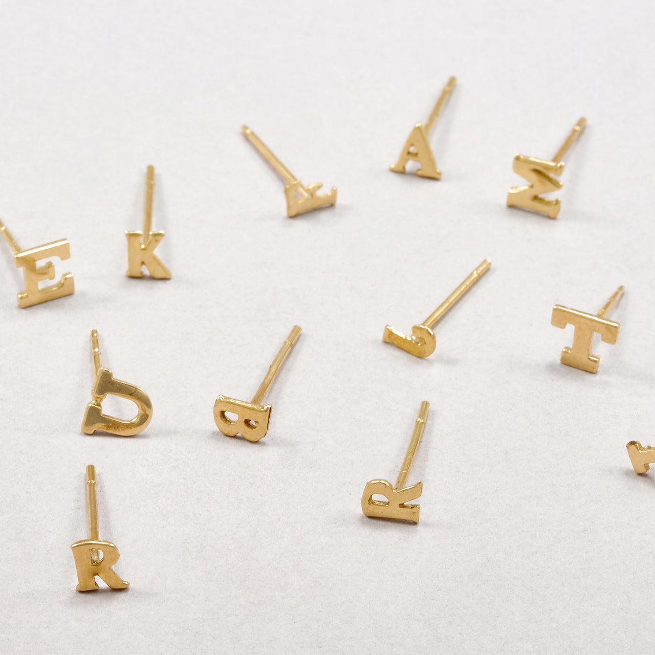 Mini Alphabet Stud