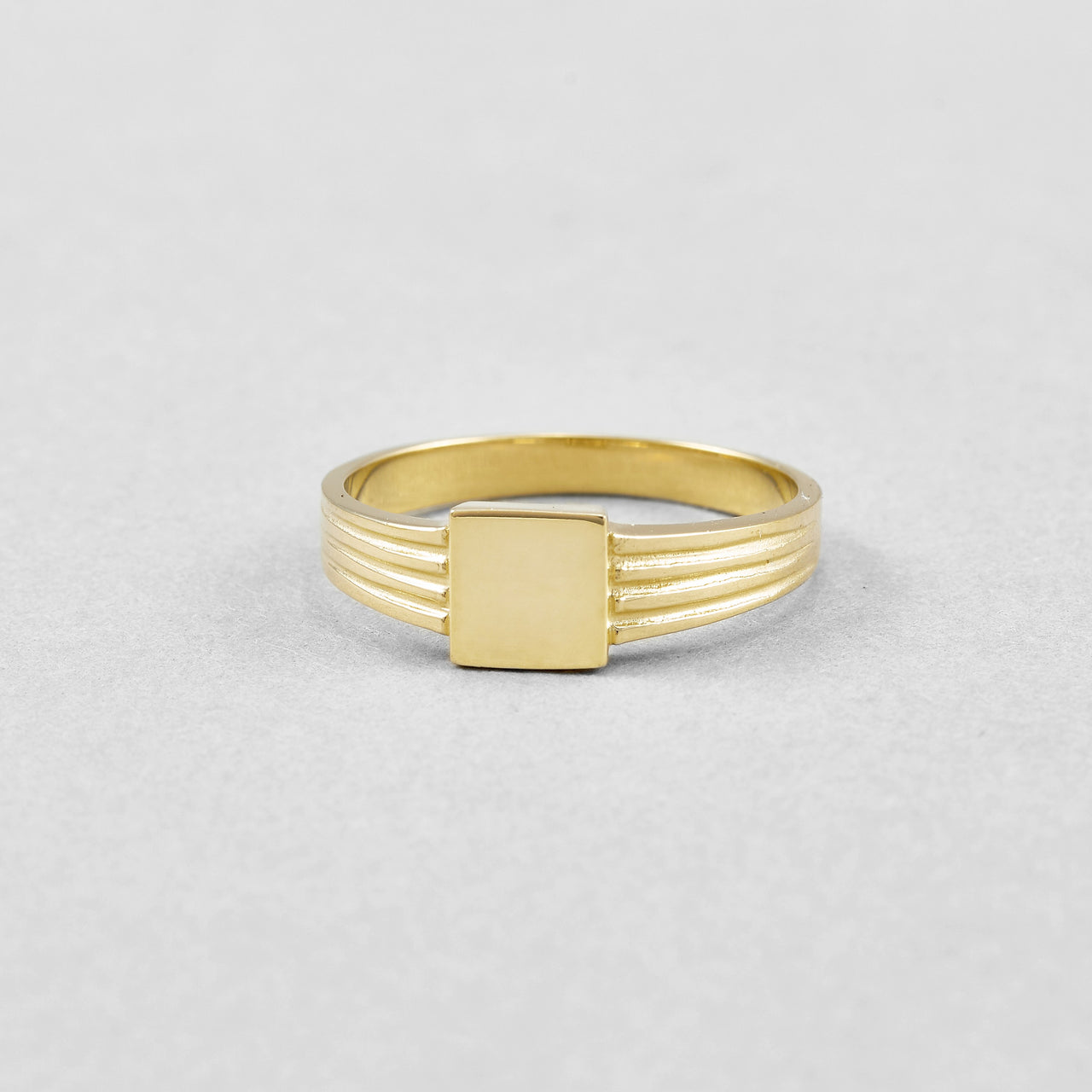 Square ID Ring